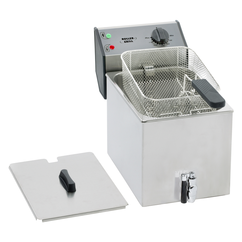 Roller Grill FD 80 R Single Fryer 8L With Draining Device