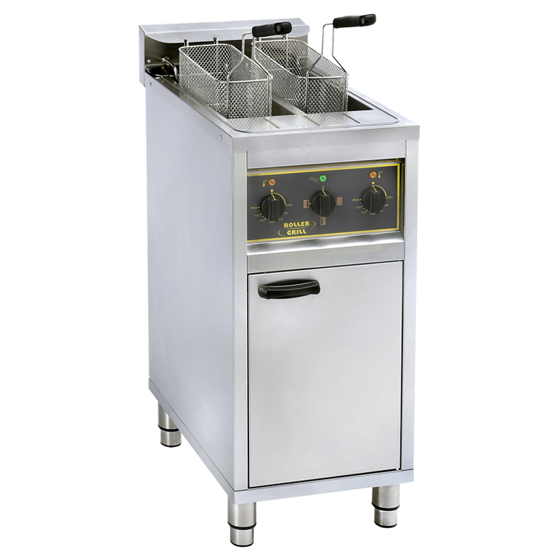 Roller Grill RFE 20 C Double Fryer On Cabinet 20L (2x10L)