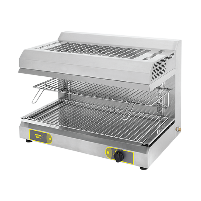 Roller Grill SGF 800 Gas Salamander With Fixed Top