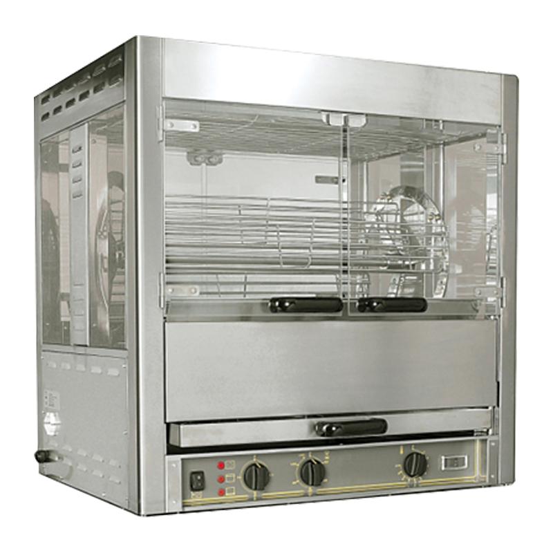 Roller Grill RBE 25 Panoramic Rotisserie With 5 Swings